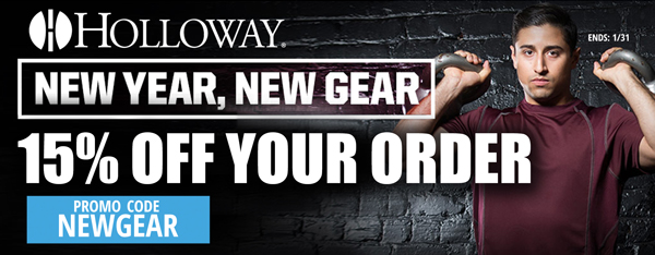 Holloway: 15% off your order