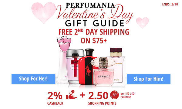 Perfumania- Free 2nd day shipping on 75+