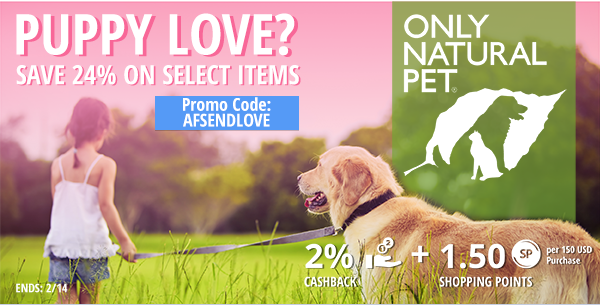 Only Natural Pet: Save 24% on select items