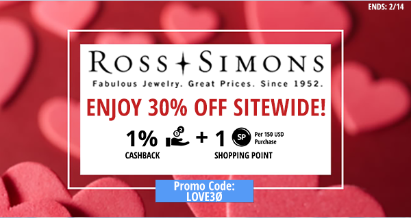 Ross-Simons- Enjoy 30% off sitewide!