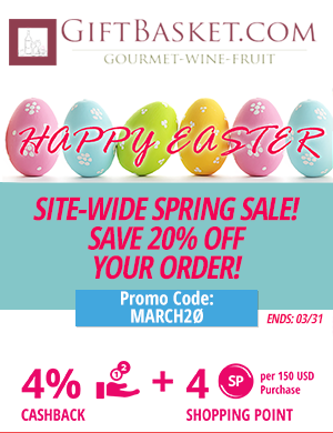 Gift Basket: Site-Wide Spring Sale!! Save 20% off your order!