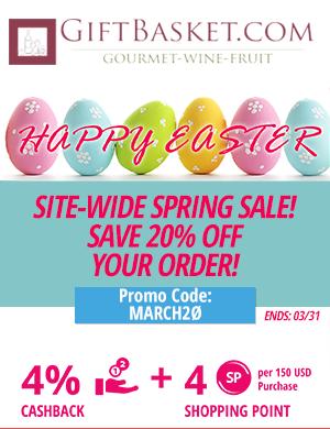 Gift Basket: Site-Wide Spring Sale!! Save 20% off your order!
