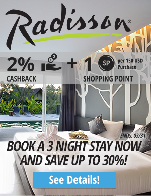 Radisson Hotels: Book a 3 Night Stay Now at Radisson and Save Up to 30%!