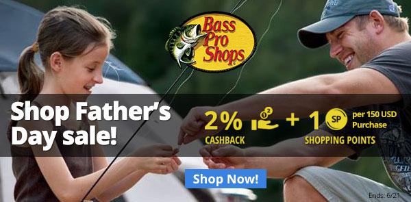 Bass Pro Shop: Shop Father's Day Sale