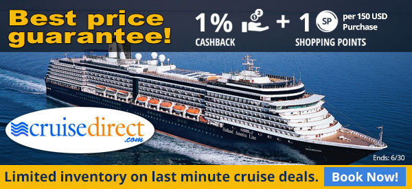 Cruise Direct: Limited inventory on last minute cruise deals