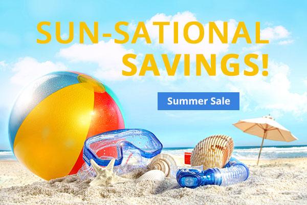 Sun-sational savings