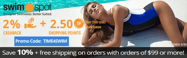 Swimspot: Save 10% + Free Shipping on orders over $99+