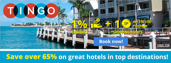 Tingo: Save over 65% on great hotels in top destinations