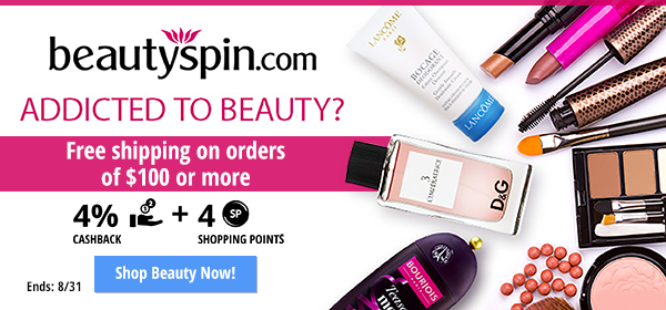 BeautySpin: Free shipping on orders of $100 or more