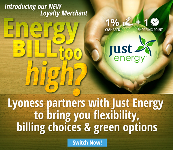 Introducing Just Energy - Lyoness Exclusive Partner!