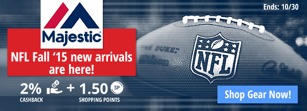 Majestic: NFL Fall 15' new arrivals are here!