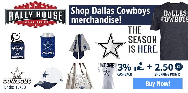 Rally House: Shop Dallas Cowboys merchandise!
