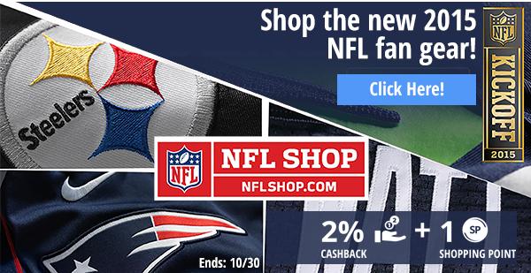 NFL Shop: Shop the new 2015 NFL fan gear!