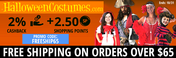 HalloweenCostumes.com: Free Shipping on orders over $65