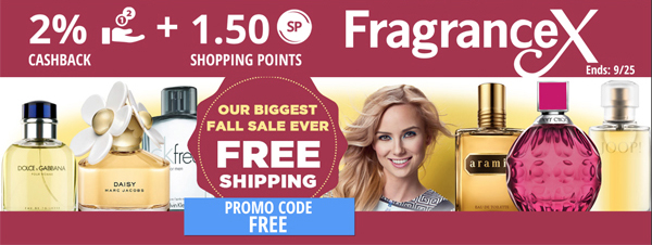 Fragrancex: Free Shipping
