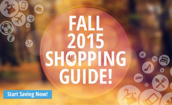 Fall 2015 Shopping Guide!