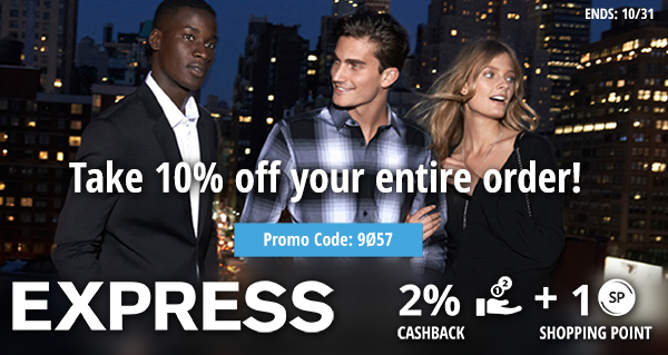 Express.com: Take 10% off your entire order!