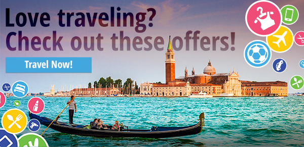 Travel Deals –  Up to 25% OFF!
