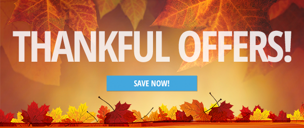 Thankful Offers banner