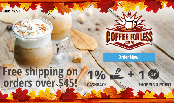 Coffeeforless.com: Free Shipping on orders over $45!