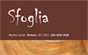 Sfoglia Cafe and Patisserie
